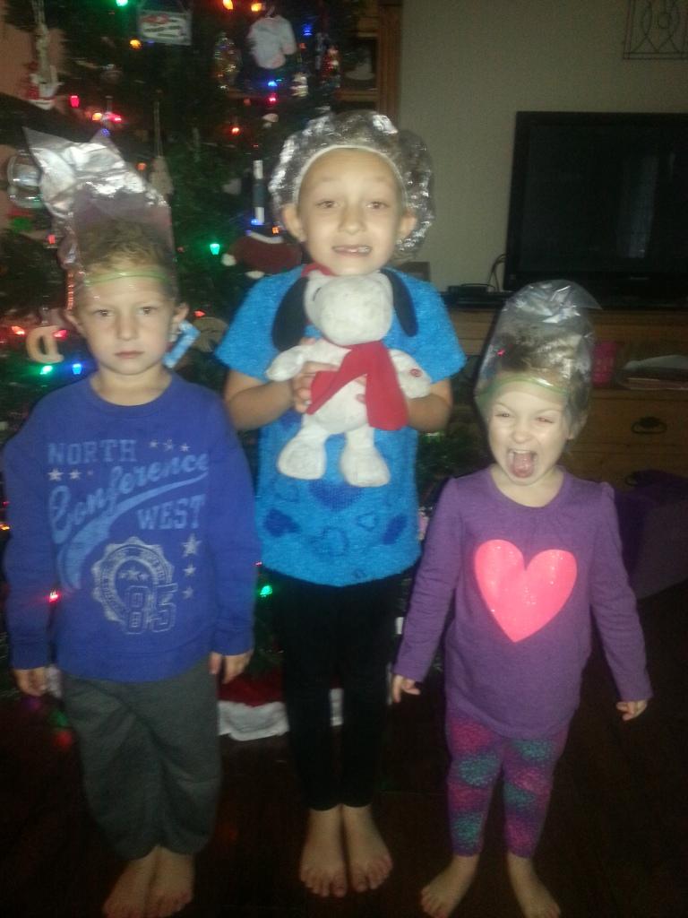Bag 'em.  Lice was on my Christmas list.
