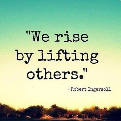 lifting others