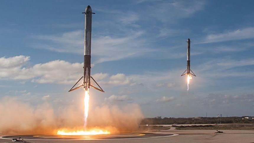 boosters landing